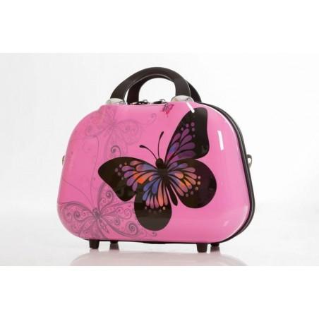 Set Neceser Maleta Grande Mariposas