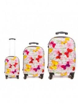 Juego maletas de viaje Nature