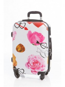 Maleta Love Roses Grande + Regalo Bascula