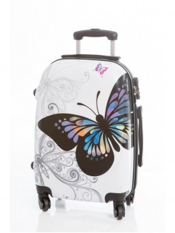 Maleta Grande Mariposas + Regalo Bascula