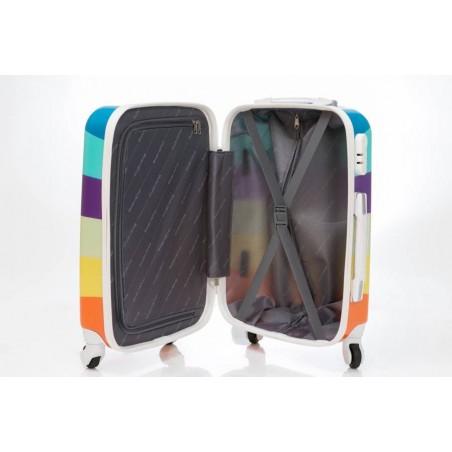 Maleta Grande Arco Iris + Regalo Bascula