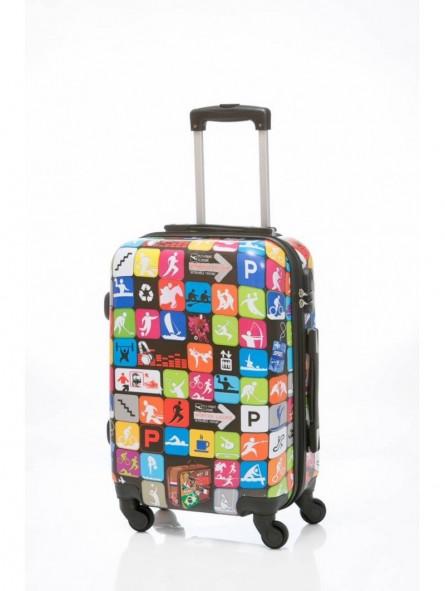 Maleta Grande Travel Icons + Regalo Bascula