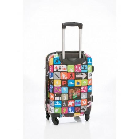 Juego de 3 Maletas travel icons