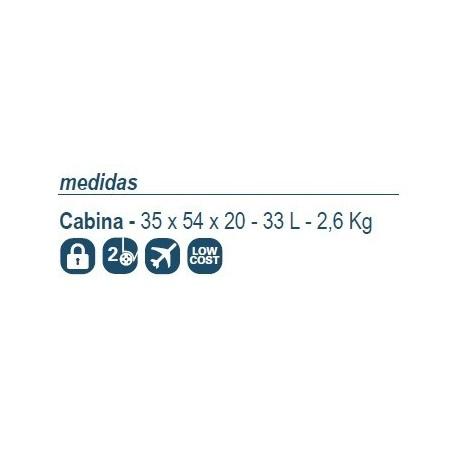 Maleta cabina 794 low cost 55x40x20