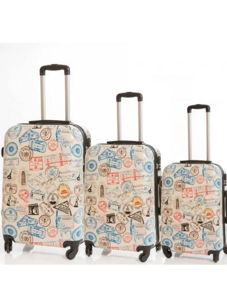 d8fa227df Juego de 3 maletas Pasaporte
