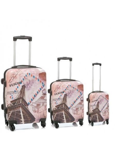 Juego de 3 maletas Paris