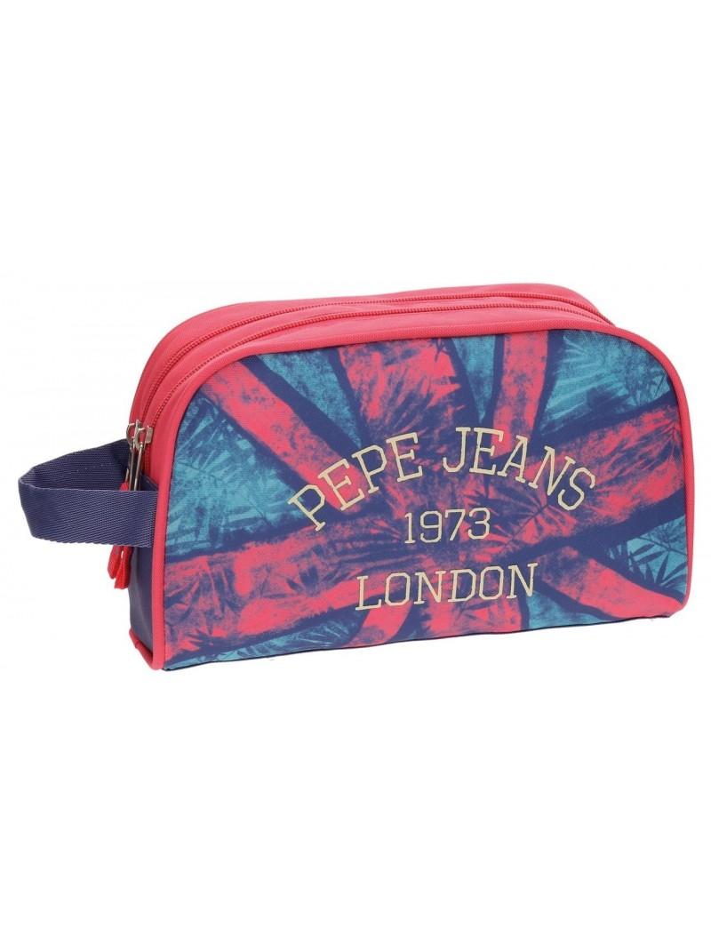 Neceser doble compartimen Pepe Jeans Anette