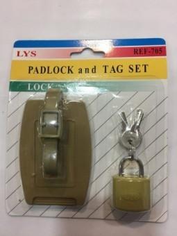 Candado con Identificador de maletas