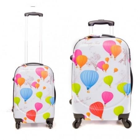 Pack maletas grande + pequeña Globos
