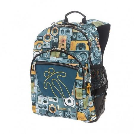 Mochila Totto Ecole Crayoles 7GG