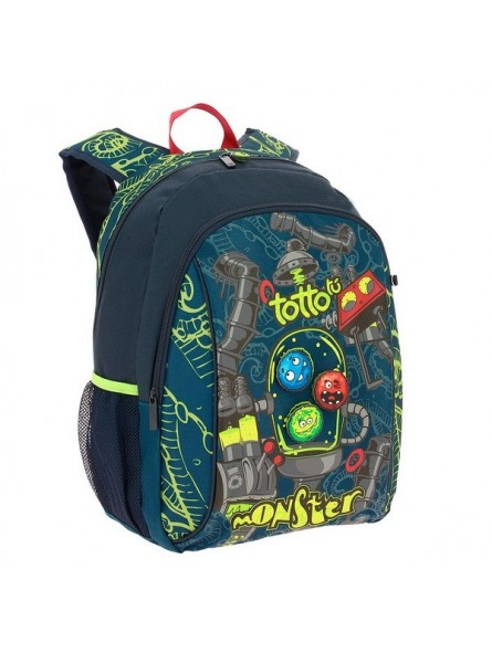 Mochila Totto Monster Lerna + Mp3