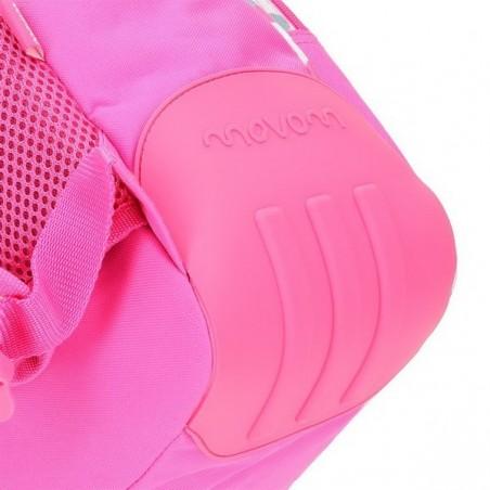 Mochila reforzada rosa con carro Movom Confeti y Mp3