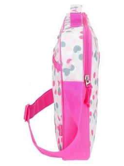 Cartera escolar rosa Movom Confeti