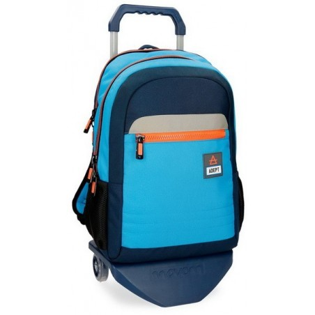 Mochila doble con carro + MP3 Adept Power
