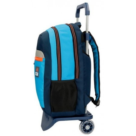 Mochila doble Adept Power con carro y MP3