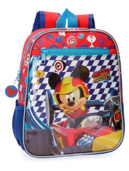 Mochila 28cm. adaptable Disney Mickey Race