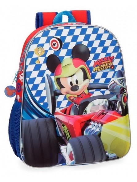 Mochila 33cm. Disney Mickey Race