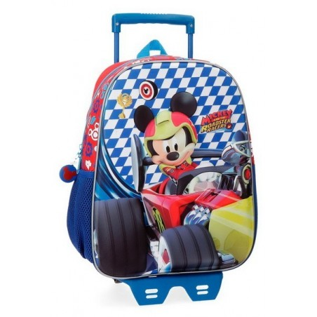 Mochila con carro 33cm. + MP3 Disney Mickey Race
