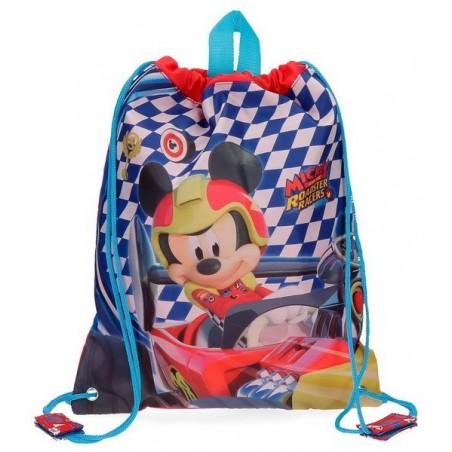 Mochila saco Disney Mickey Race