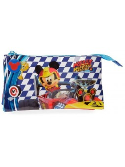 Estuche triple Mickey Race