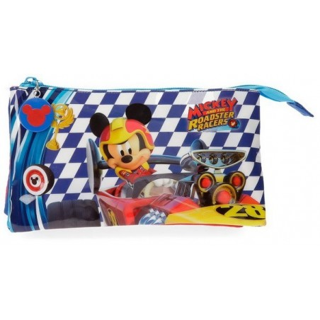 Estuche triple Mickey Race