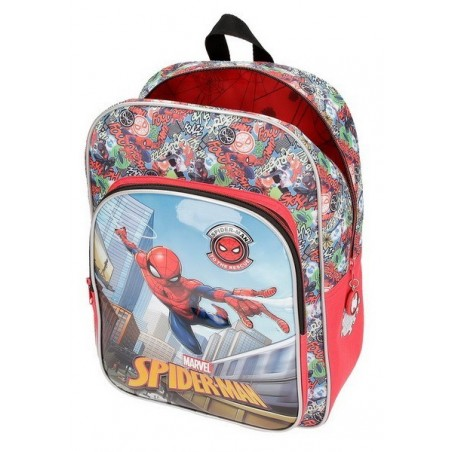 Mochila grande adaptable Spiderman Grafiti