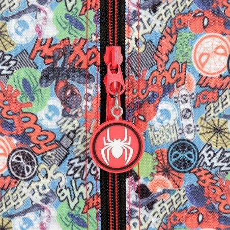 Trolley mochila + MP3 Spiderman Grafiti