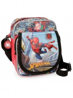 Bolso bandolera Spiderman Grafiti
