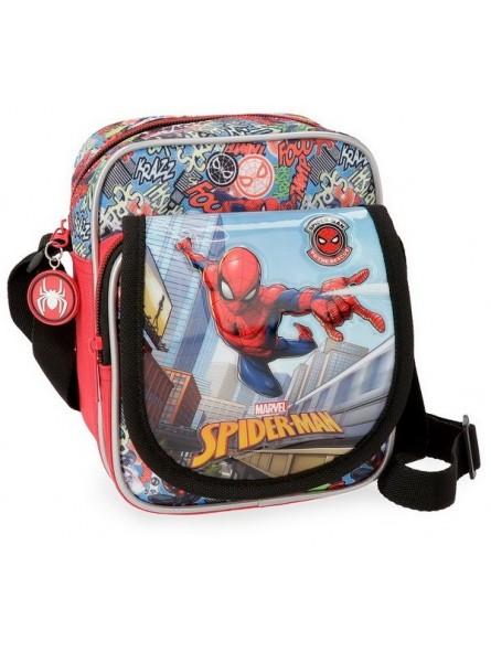 Bolso bandolera Spiderman Grafiti