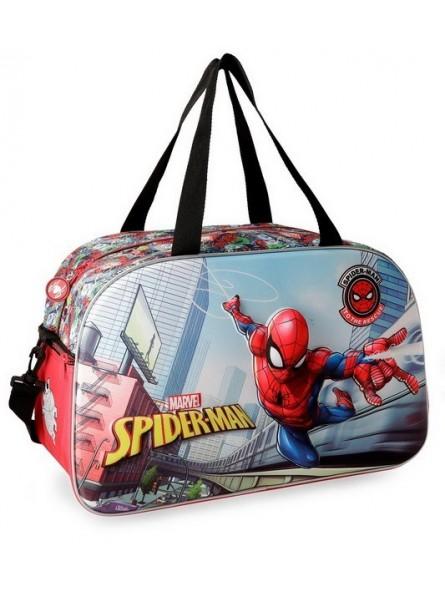 Bolso de viaje 45cm. Spiderman Grafiti