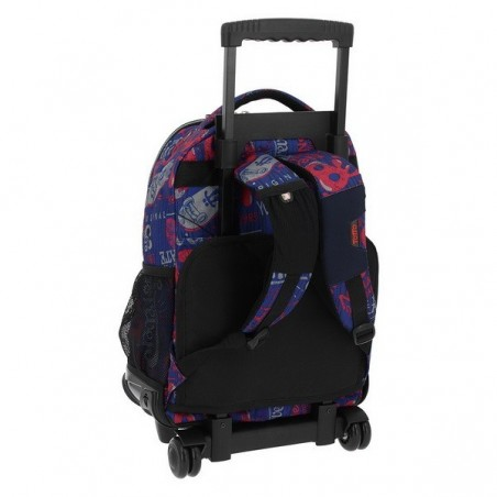 Trolley Mochila + MP3 Totto Ecole Renglones 6LN