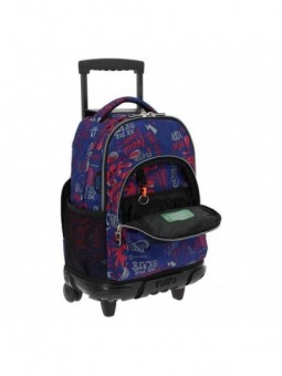 Trolley Mochila + MP3 Totto Ecole Renglones 6LN