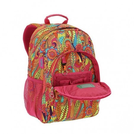 Mochila + MP3 Totto Acuareles 8V9
