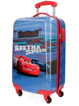 Maleta cabina + MP3 Disney Cars Ultra Speed