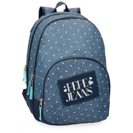 Mochila doble + MP3 Pepe Jeans Olaia