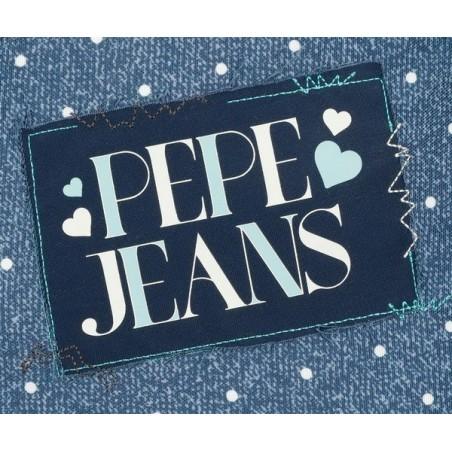 Mochila doble pequeña con carro Pepe Jeans Olaia