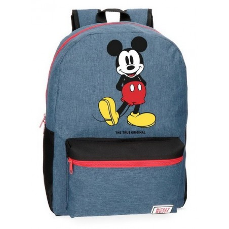 Mochila adaptable + MP3 Disney Mickey Blue