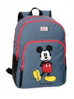 Mochila doble adaptable Disney Mickey Blue