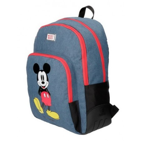 Mochila doble adaptable Disney Mickey Blue