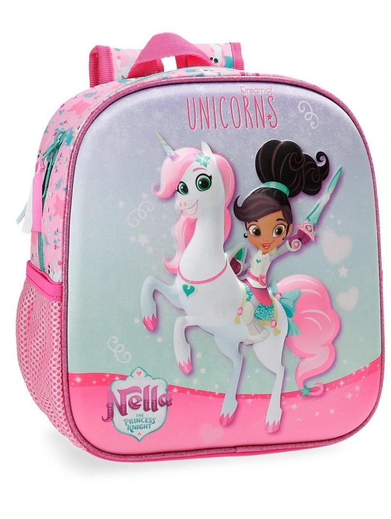 Mochila pequeña Nella Dreams of Unicorns