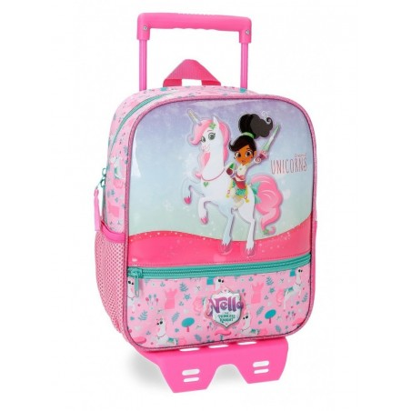 Mochila con carro 28 cm. Nella Dreams of Unicorns