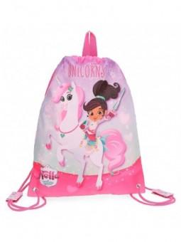 Mochila saco Nella Dreams of Unicorns