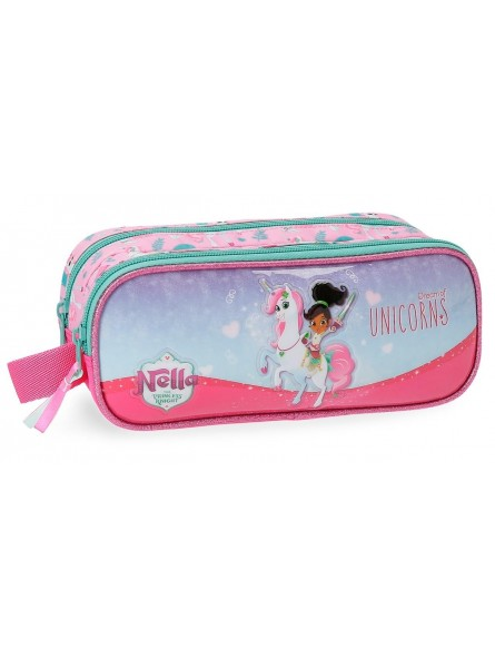 Estuche doble Nella Dreams of Unicorns