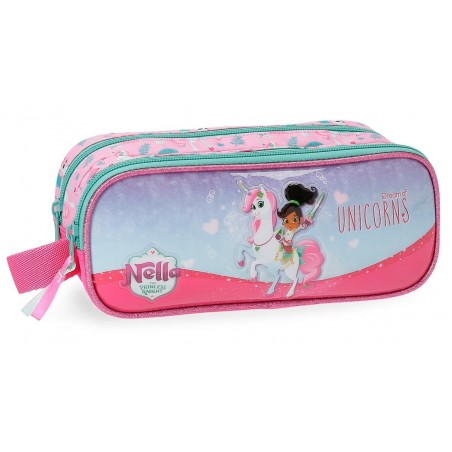 Estuche neceser doble Nella Dreams of Unicorns