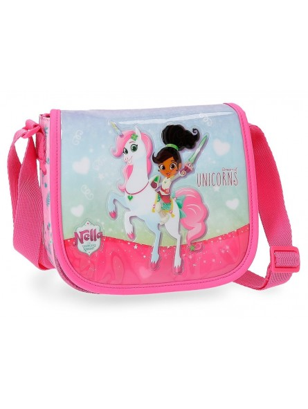 Bolso bandolera con solapa Nella Dreams of Unicorns