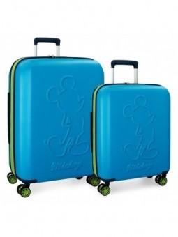 Juego maletas Disney Mickey Colored