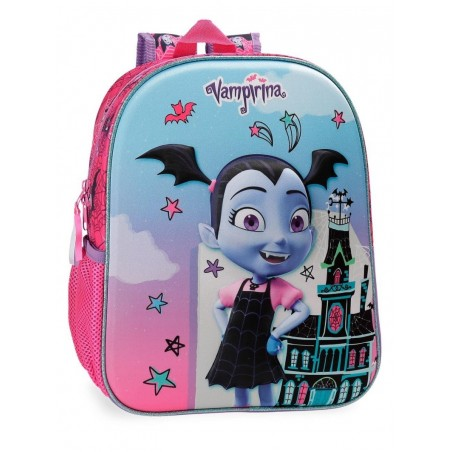 Mochila 33 cm. + MP3 Disney Vampirina