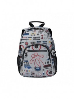 Mochila + MP3 Totto Tempera 8GM