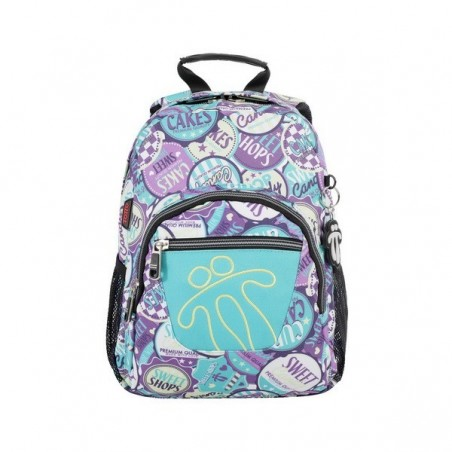 Mochila Totto Tempera 4SH + MP3