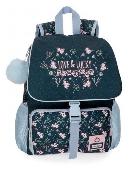 Mochila 37 cm. + MP3 Enso Love & Lucky